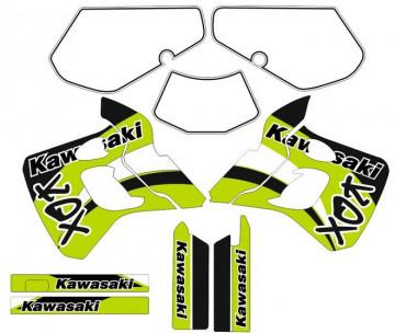 Kit Autocolantes Para  Kawasaki KDX 250