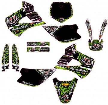 Kit Autocolantes Para Kawasaki KX 85 100 2001-2012