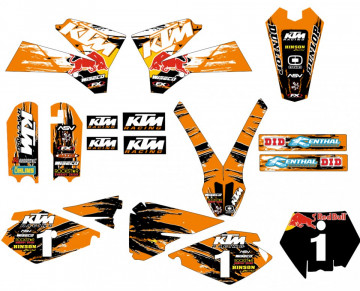 Kit Autocolantes Para  KTM SX 85 03-12