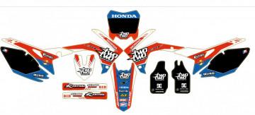 Kit Autocolantes Para Moto - HONDA CRF (250 14-15),  (450 13-15)  Two Two