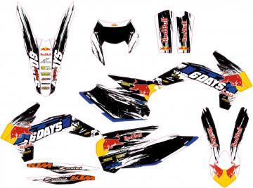 Kit Autocolantes Para Moto - KTM EXC / XC / XCF 14-16