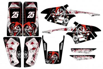 Kit Autocolantes Para Yamaha Warrior 350