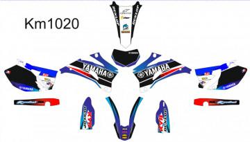 Kit Autocolantes Para Yamaha Wr 250 2007-2013