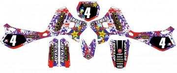 Kit Autocolantes Para Yamaha Wr 250 95-96