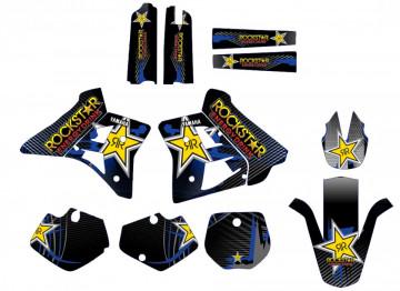 Kit Autocolantes Para Yamaha YZ 250 91-92