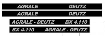 Kit de Autocolantes para Agrale Deutz BX 4.110