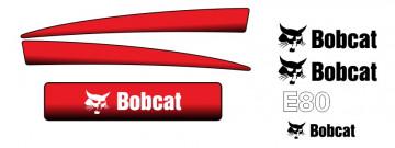 Kit de Autocolantes para BobCat E80