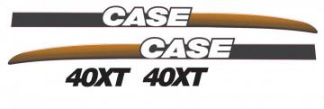 Kit de Autocolantes para CASE 40XT
