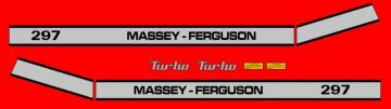 Kit de Autocolantes para Massey Ferguson 297