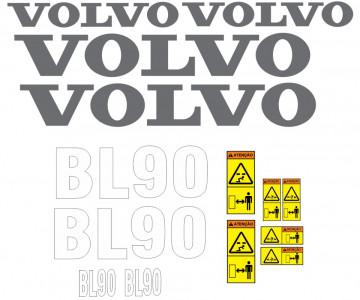 Kit de Autocolantes para Volvo BL90