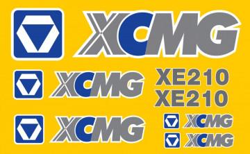 Kit de Autocolantes para XCMG XE210