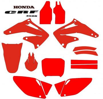 Molde - Honda CRF 450R 2002 2003 2004