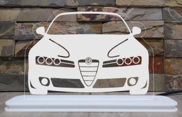 Moldura / Candeeiro com luz de presença - Alfa Romeo 159