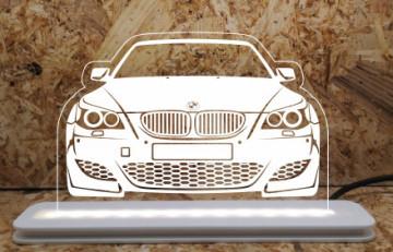 Moldura / Candeeiro com luz de presença - BMW Série 5 E60 E61