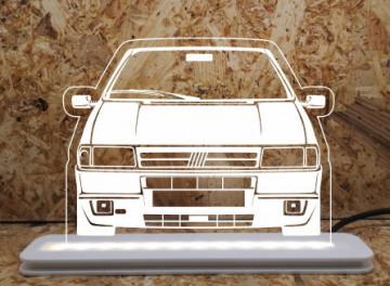 Moldura / Candeeiro com luz de presença - Fiat Uno