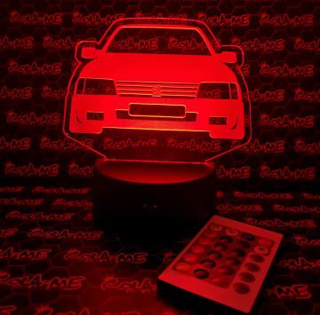 Moldura / Candeeiro com luz de presença - Peugeot 205