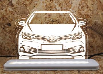 Moldura / Candeeiro com luz de presença - Toyota Auris