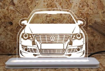 Moldura / Candeeiro com luz de presença - Volkswagen Passat 3C