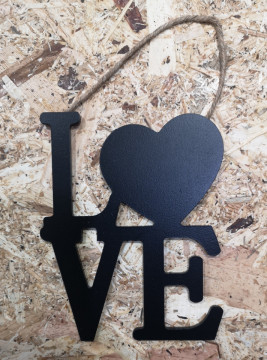 Pendente em MDF - LOVE