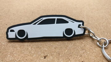 Porta Chaves com silhueta de BMW E36