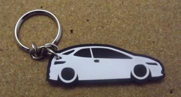 Porta Chaves com silhueta de  Honda Civic FN2