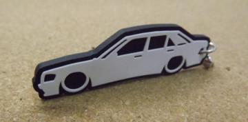 Porta Chaves com silhueta de  Mercedes 190