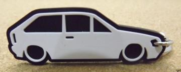 Porta Chaves com silhueta de Volkswagen Polo 86c  / G40