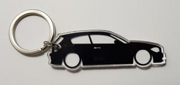 Porta Chaves de Acrílico com silhueta de BMW Série 1