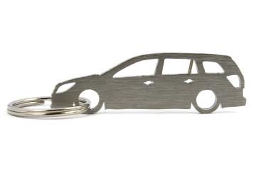 Porta Chaves em inox com silhueta com Opel Astra H wagon