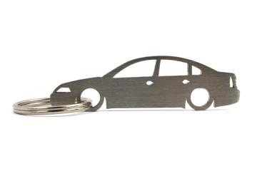 Porta Chaves em inox com silhueta com Volkswagen Passat B5