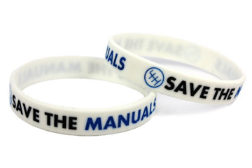 Pulseira para Save The Manuals Branco