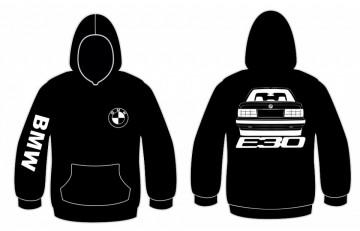 Sweatshirt com capuz BMW E30 ( Traseira)