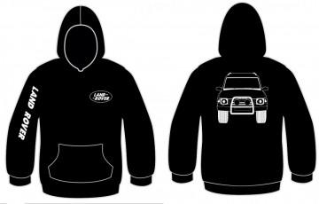 Sweatshirt com capuz com Land Rover Discovery