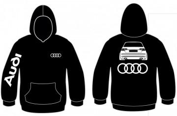 Sweatshirt com capuz para Audi A3 Novo