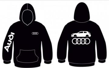 Sweatshirt com capuz para Audi A3 v8