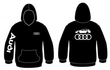 Sweatshirt com capuz para Audi A6 C6 Avant