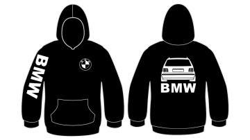 Sweatshirt com capuz para BMW E36 Touring