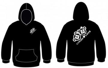 Sweatshirt com capuz para Citroen Love