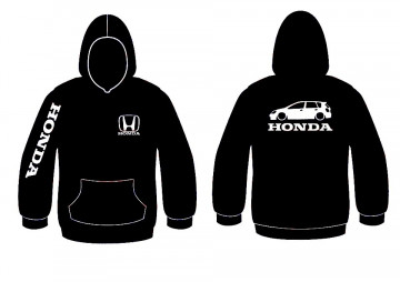 Sweatshirt com capuz para Honda Civic EP 5 Portas