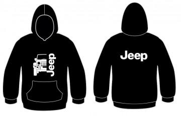 Sweatshirt com capuz para Jeep Wrangler