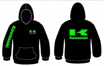 Sweatshirt com capuz para Kawasaki