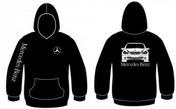 Sweatshirt com capuz para Mercedes Classe C W203
