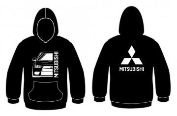 Sweatshirt com capuz para Mitsubishi Lancer Evo 7