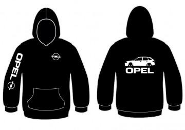 Sweatshirt com capuz para Opel Astra F