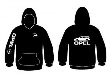 Sweatshirt com capuz para Opel Astra H Station