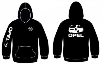 Sweatshirt com capuz para Opel Corsa B