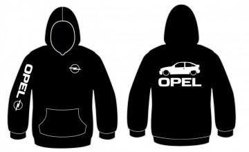 Sweatshirt com capuz para Opel Kadett