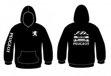 Sweatshirt com capuz para Peugeot 205 rallye