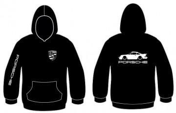 Sweatshirt com capuz para Porsche 911 Turbo