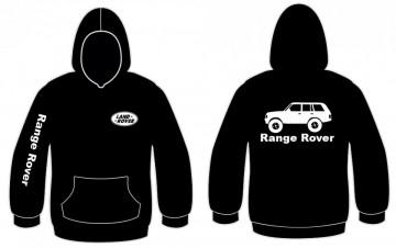 Sweatshirt com capuz para Range Rover